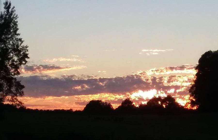 amazing sunset sept 14