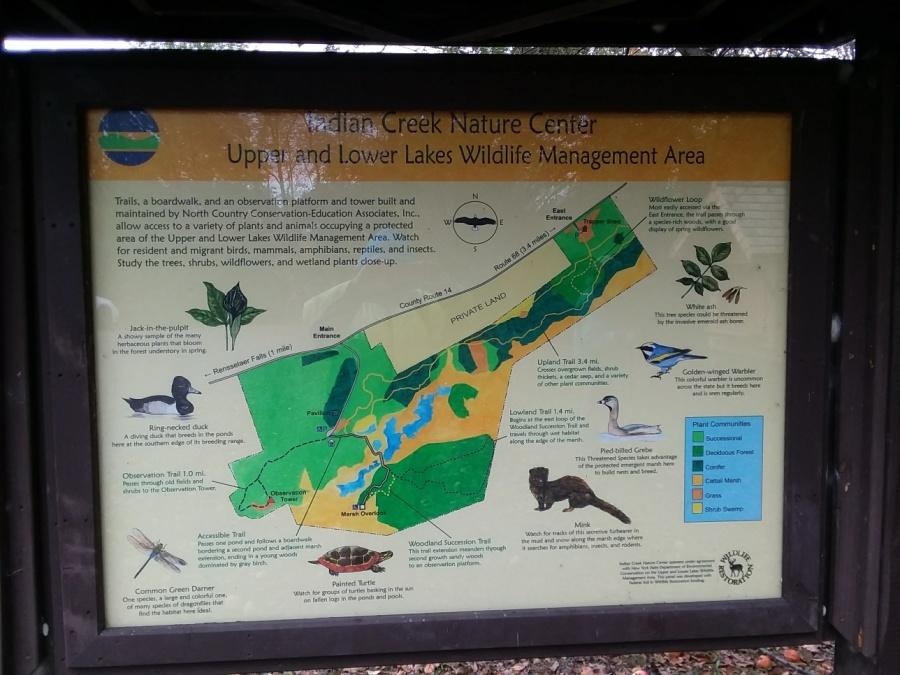 indian creek map