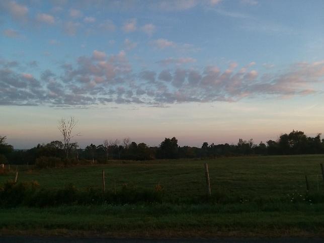 sep 4 sunrise looking north