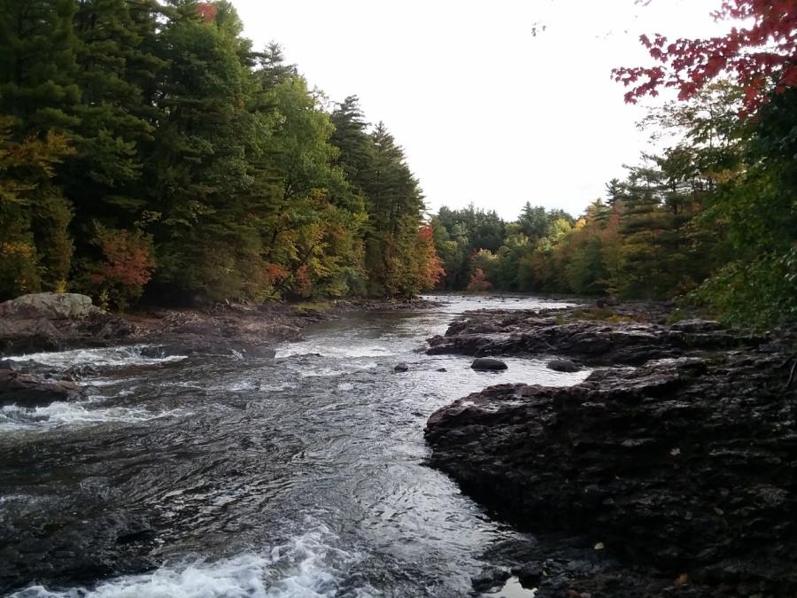stone valley river scene